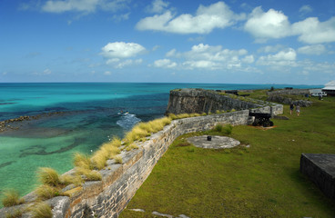 Bermuda Royal Naval Dockyard Ramparts