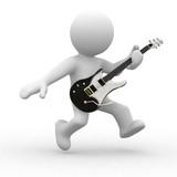 Fototapety playing guitar