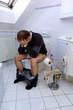 Toilettenstress