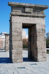 Debod Temple Arch