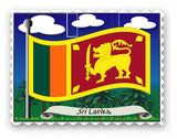 Briefmarke Sri Lanka poster