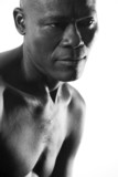 Handsome Afro-American Man poster