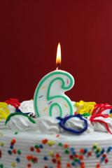 Birthday Cake - Six
