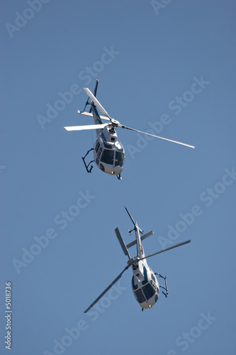 Foto op Aluminium Helicopter Helicopters