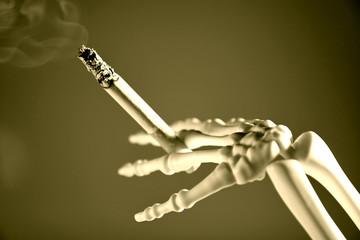 esque fumando