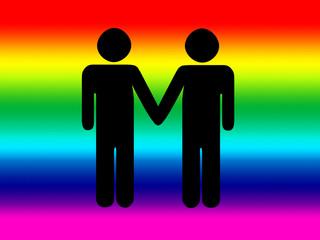 gay mano nella mano