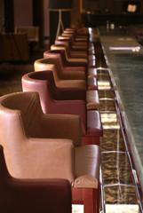 Hotel bar interior