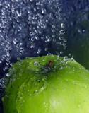 Refreshing apple poster