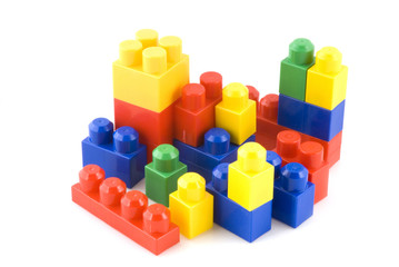 colored toys