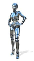 Chrome Robot