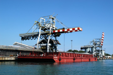 Il porto di Monfalcone Gorizia italia