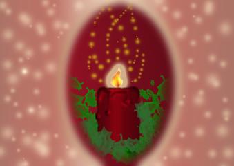 candelina natale