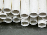 PVC Pipe ends poster
