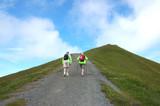 Senior Hikers poster