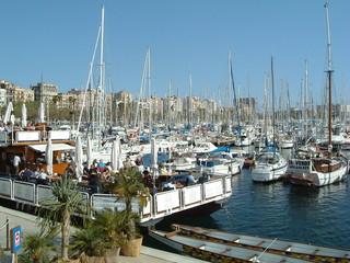 Restaurant and marina, Barcelona