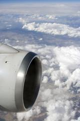 Motor en vuelo