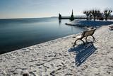 Hafen, Konstanz, Bodensee, Winter, Schnee