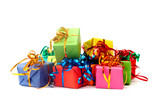 Fototapety Colorful gifts