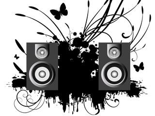 Vector Music Speakers