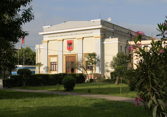 Albanian parliament Tirana
