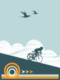 cyclist, get on your bike poster