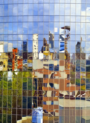 City in the distorting mirror