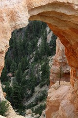 Natural Stone Arch in Bryce Canyon