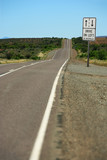 Drive on left in Australia poster