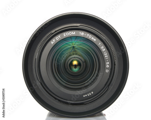 camera lens. Camera zoom lens