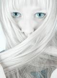 Shy girl poster