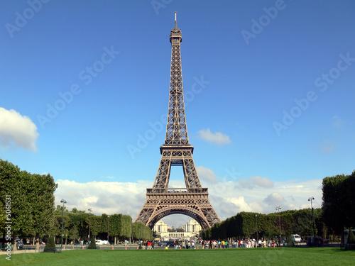 Leinwanddruck Bild Eifelturm, Paris