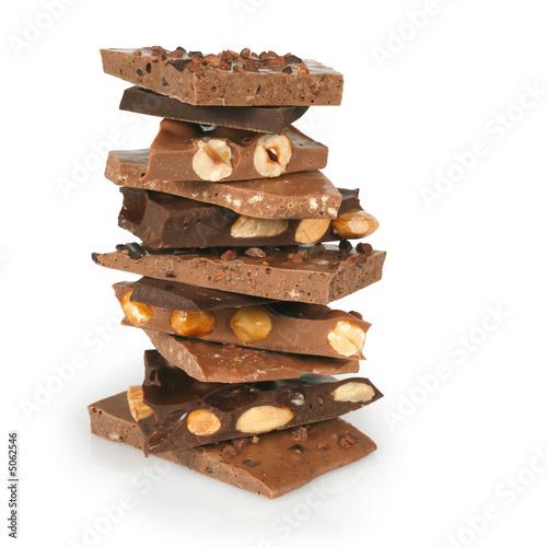 Aluminium Snoepjes Chocolate stack