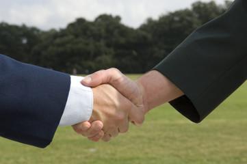 Air Force Army Handshake