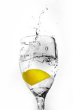 Sparkling Water Splash poster