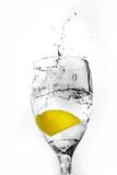 Sparkling Water Splash poster