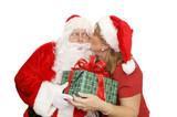 Santas Thank You Kiss poster