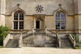 Entrance. staircase. windows. exterior poster