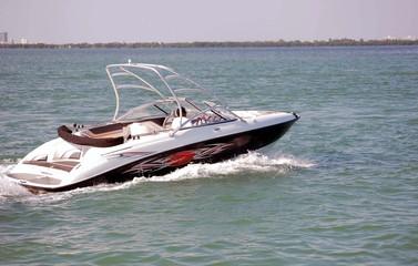 Speed Boat on the Intercoastal
