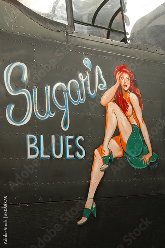WWII aircraft nose art