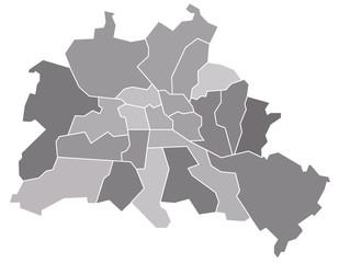 Berlin, Stadtkarte