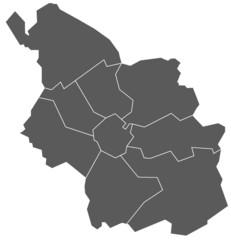 Köln, Stadtkarte
