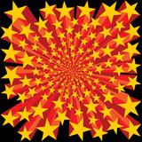 Bursting Stars Background poster