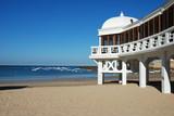 Beach in Cadiz, Southern Spain poster