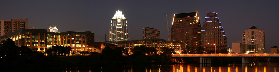 Downtown Austin, Texas at Night