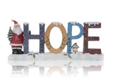 Hope Christmas Sign poster
