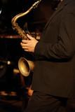 saxophone jazz poster