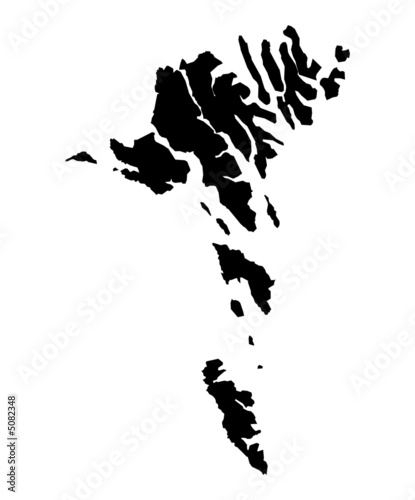 map of Faroe Islands