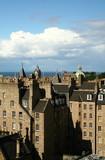 A view of Edinburgh City center