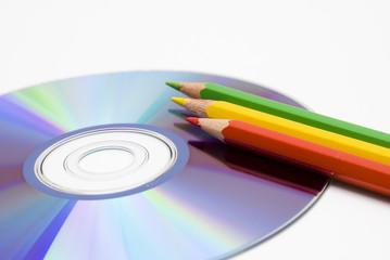 CD e matite