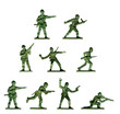 Collection of traditional toy soldiers - 5083778